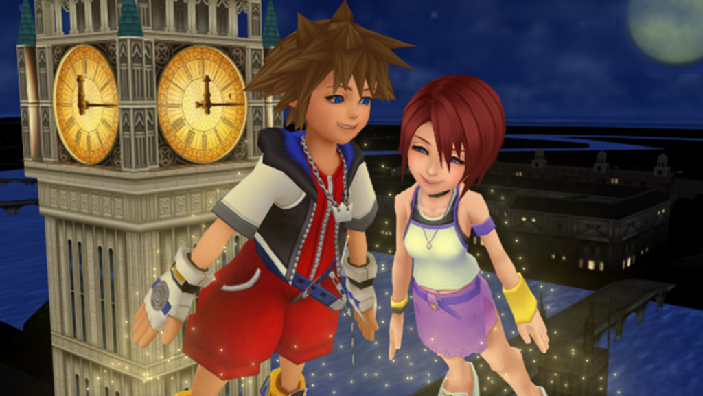 Sora and Kairi in Neverland Just Believe in Yourself..