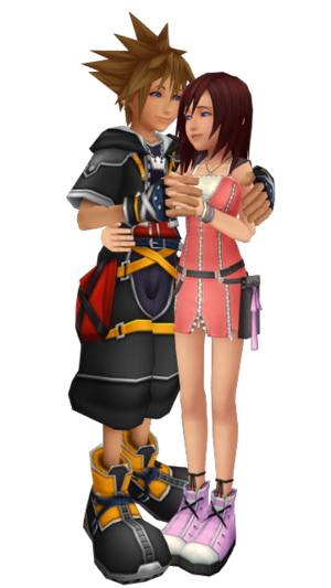 Sora x Kairi KH2 Together Forever