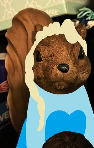 गिलहरी Elsa