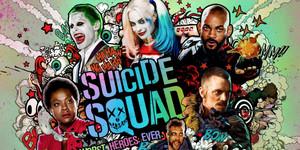 Suicide Squad Movie Posters