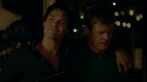 TVD 8x07 Damon and Pete