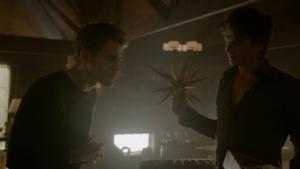 TVD 8x07 Damon and Stefan