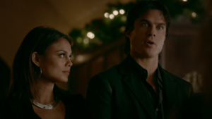 TVD 8x07 Damon and Sybil