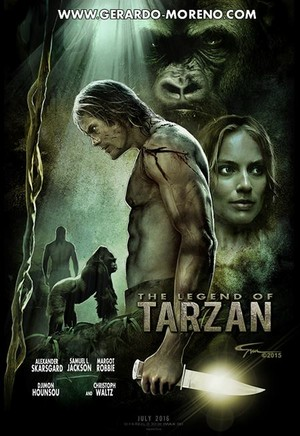 The Legend Of Tarzan peminat Poster