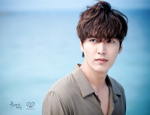 Lee Min Ho wallpaper titled The Legend of the Blue Sea