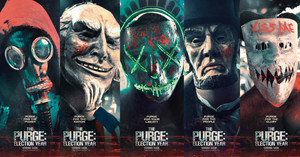 The Purge: Election год Poster