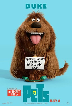 The Secret Life Of Pets Character Poster