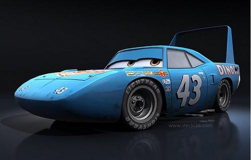 Disney Pixar Cars karatasi la kupamba ukuta called The king