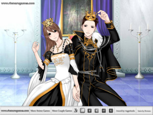 The queen and prince