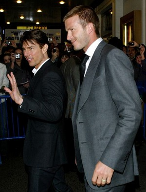 Tom Cruise David Beckham Gay