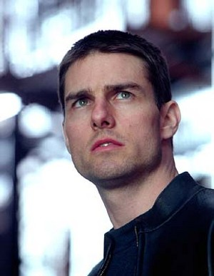 Tom Cruise in Minority reportar