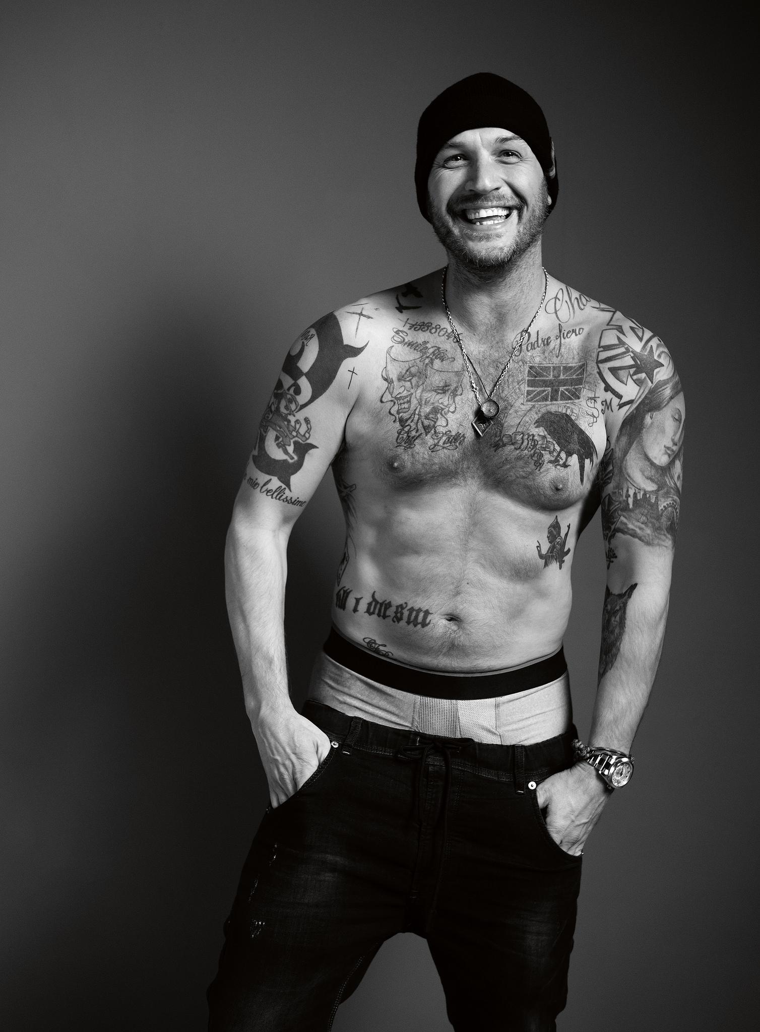Tom Hardy ~ Esquire Magazine Photoshoot