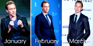 Tom Hiddleston in 2016