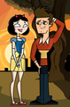 Topher and Ella - total-drama-island fan art