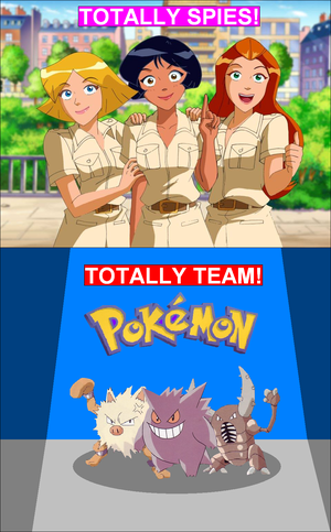 Totally Spiesss या Totally (Team Pokemon) 2