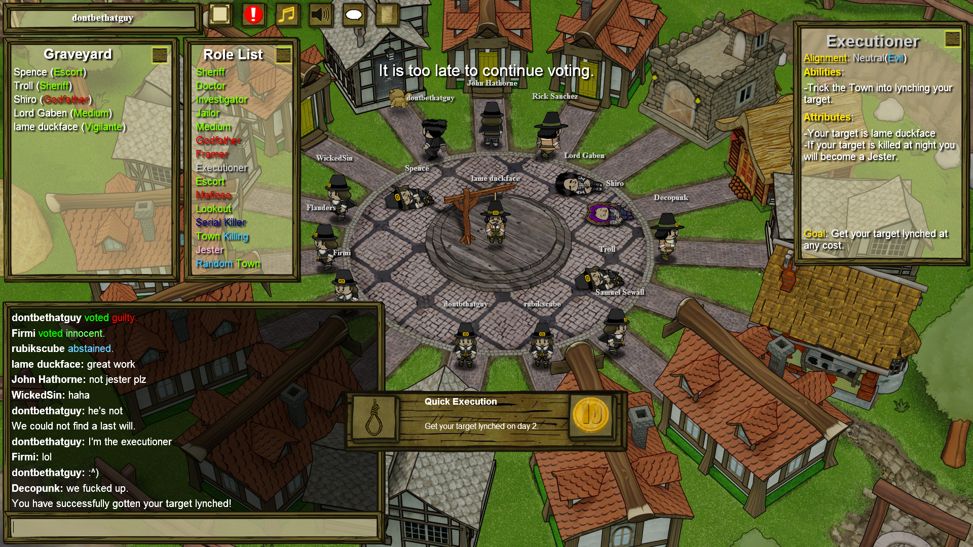 town of salem escort wiki