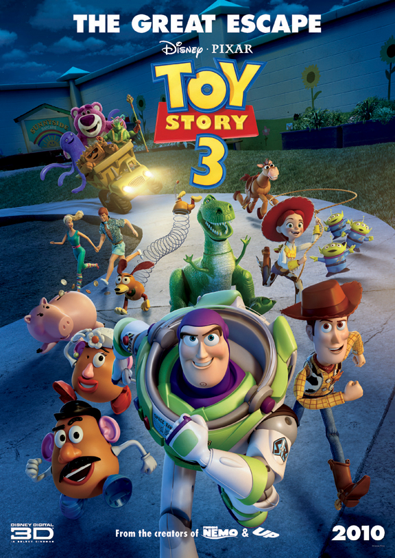 Pixar Images Toy Story 3 The Great Escape Poster Hd Wallpaper And