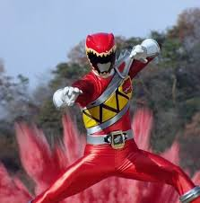 Tyler Morphed As The Red Dino Charge Ranger