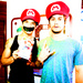 Tyler Posey and Dylan O'Brien - tyler-posey icon