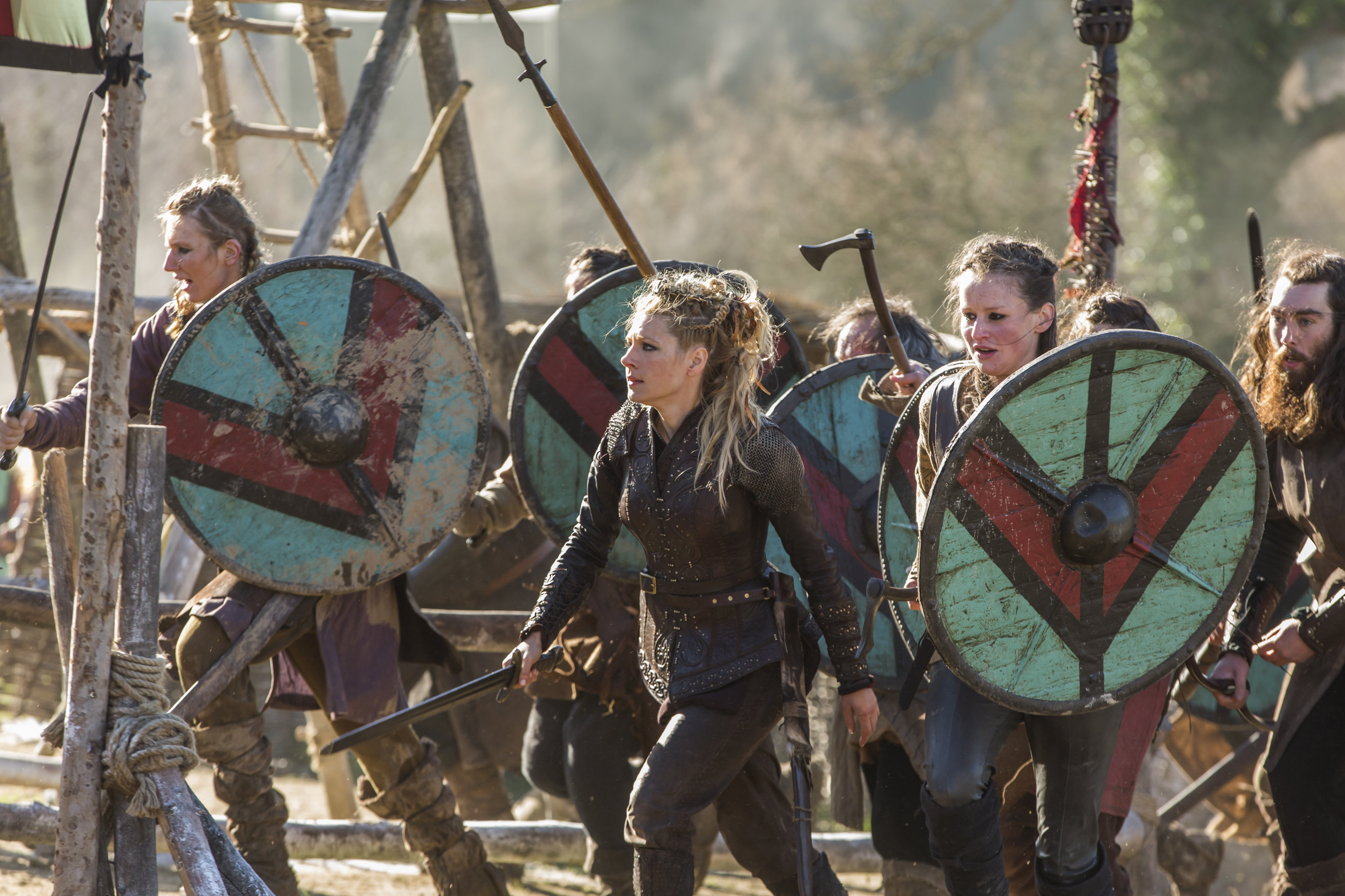 """Vikings """"On the Eve"""" (4x19) promotional picture"""