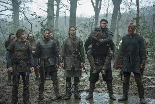 "Vikings (TV Series) wallpaper titled Vikings ""Revenge"" (4x18) promotional picture"