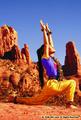 Wai Lana Yoga crescent moon pose