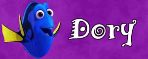 Walt Disney Character Banner - Dory