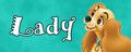 Walt Disney Character Banner - Lady - walt-disney-characters fan art