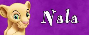 Walt ডিজনি Character Banner - Nala
