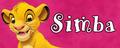Walt Disney Character Banner - Simba - walt-disney-characters fan art