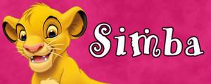 Walt ডিজনি Character Banner - Simba