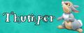 Walt Disney Character Banner - Thumper - walt-disney-characters fan art