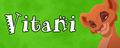 Walt Disney Character Banner - Vitani - walt-disney-characters fan art