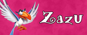 Walt 디즈니 Character Banner - Zazu