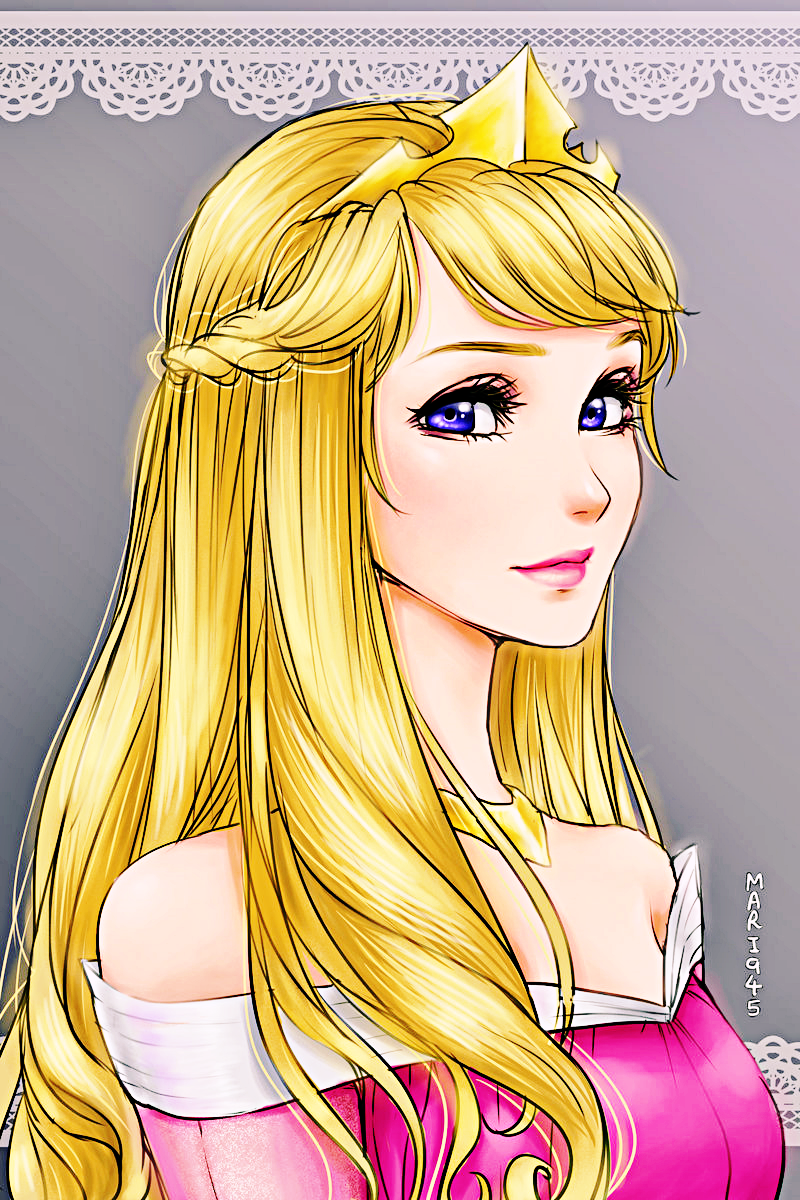 Walt Disney Fan Art - Princess Aurora - Walt Disney Characters Fan
