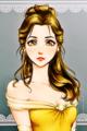Walt Disney Fan Art – Princess Belle - walt-disney-characters fan art