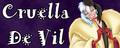 Walt Disney Villain Banner - Cruella De Vil - walt-disney-characters fan art
