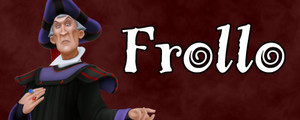 Walt Disney Villain Banner - Frollo