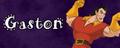 Walt Disney Villain Banner - Gaston - walt-disney-characters fan art