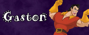 Walt Disney Villain Banner - Gaston