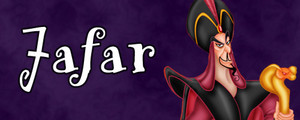 Walt Disney Villain Banner - Jafar