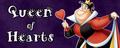 Walt Disney Villain Banner - Queen of Hearts - walt-disney-characters fan art