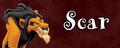Walt Disney Villain Banner - Scar - walt-disney-characters fan art
