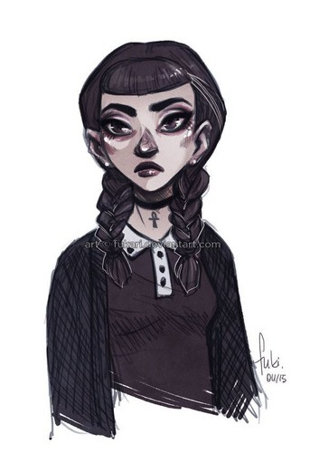 Images Of Wednesday Addams Wallpaper Www Industrious Info