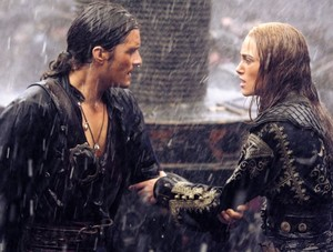 Will and Elizabeth get married during a bloody battle: the Maelstrom