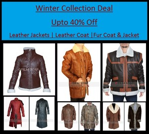 Winter Leather Jackets Collection at Our Store