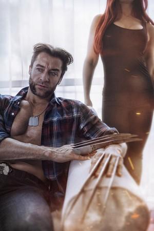 Wolverine and Jean Grey Cosplay 3 por elenasamko