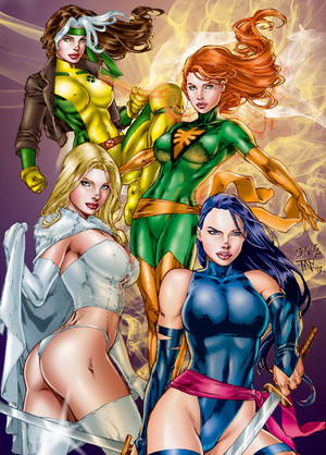 X WOMEN por Ed Benes por tony058