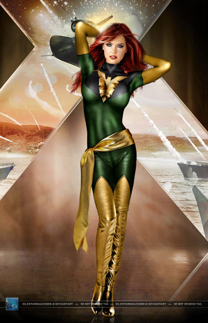 X men Legends Jean Grey Phoenix por SilentArmageddon