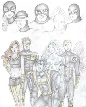 X men original team por davidgozu